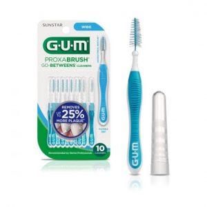 GUM Proxabrush, dental implants, oral hygiene